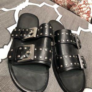 Zara buckle sandal